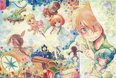 Tags: Anime, Peter Pan, Pixiv, Tinkerbell (Peter Pan), Wendy Darling