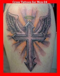 Cross Tattoos for Men 04