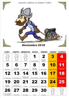 Noviembre - Calendario Les Luthiers 2018