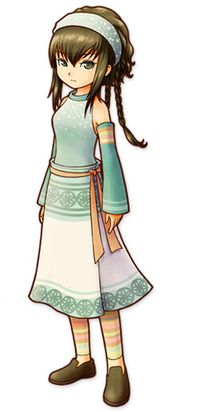 Reina from Harvest Moon: A Tale of Two Towns