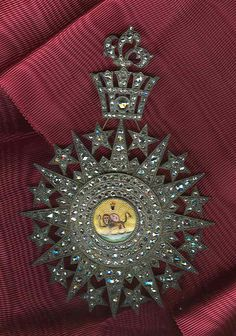 Iran Qajar Order of Lion and Sun