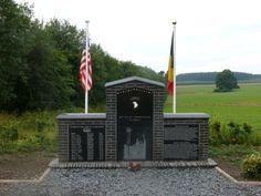 Easy Co, 506 PIR, 101st Airborne memorial, Bastogne, Belgium.