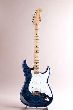 FENDER CUSTOM SHOP[フェンダーカスタムショップ] MBS Custom Stratocaster Quilted Maple Top N.O.S. Sapphire Blue Trans Built by Mark Kendrick 2007|詳細写真