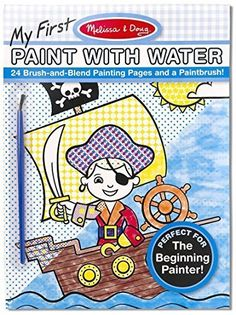 Blue My First Color with Water Only Art Activity Pad  FREE Melissa  Doug Scratch Art MiniPad Bundle 31844 *** Read more at the image link. (This is an affiliate link)
