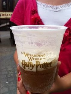 Harry Potter Butter beer recipe. I would be my kids FAVORITE Mom if I made this!! I see a HP Movie-a-thon in our future!