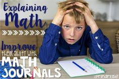 The Primary Gal: Math Journals!