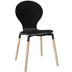 Path Dining Side Chair Path Dining Side Chair in Black