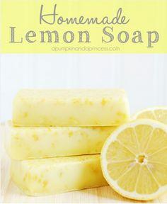 handmade lemon soap