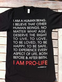 I am an abortion survivor...therefore I am pro-life!
