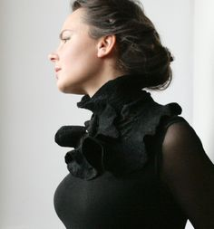 Victorian inspired Scarf Collar