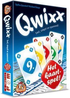 Qwixx Het Kaartspel.
