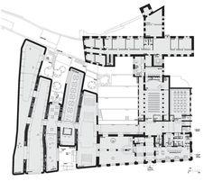 Moderní architektura v historické Olomouci - SEFO, půdorys