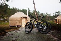 Mountain biking and wilderness living, via Gardenista.