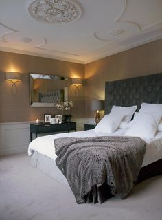 Top Interior Design Projects by Staffan Tollgard featuring flawless mirror designs Dream Bedroom, Home Bedroom, Bedroom Decor, Master Bedroom, Boudoir, Ideas Vintage, Interior Design Services, Beautiful Bedrooms, Best Interior