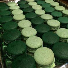 #maymacarons #macarons #personalizado #green  #degrade #nossosmacarons
