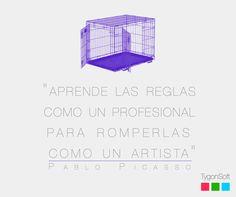 #quotes #picasso #design #socialmedia