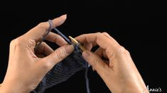 Binding Off (purl): Learn how to bind off with this free video from AnniesCatalog.com.
