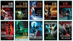 I can never get enough of the Rachel Morgan books from Kim Harrison. I love her paranormal mix and to have a strong female character.