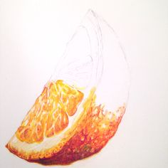 Look at this amazing hyper-real orange segment! Learn how to paint it as part of…