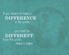 Make a Difference.  Sister Elaine S. Dalton.  The Church of Jesus Christ of Latter-Day Saints.