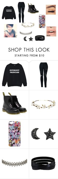 """Meeting Daniel James Howell"" by victoriasimonettis on Polyvore featuring Dr. Martens, Cult Gaia, Assya London and She.Rise"