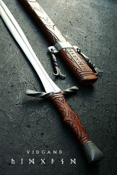 Vidgand 2 by Cedarlore Forge Sword, via Flickr