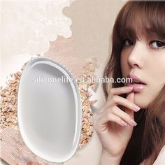 Check out this product on Alibaba.com APP Silicone gel lady face Foundation makeup puff cosmetic Beauty tools not Sponge Powder blender for women BB CC box