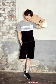 Monsta X Jooheon for Kappa