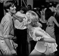 Edie Sedgwick dancing.