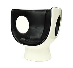 Rare 1970's Kontor Chair designed by Brian Long