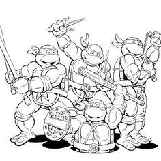 top 25 free printable ninja turtles coloring pages online | ninja ... - Lego Ninja Turtles Coloring Pages