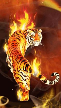 Flame Animals, Fire Tiger 02 Jpg, Animal Wallpaper, Fire Flames, 7015694 Tiger On Fire Jpg Fire Wallpapers Tiger Wallpaper, Animal Wallpaper, Photo Wallpaper, Tiger Artwork, Tiger Painting, Tiger Drawing, Chinese Tiger, Big Tiger, Fire Art