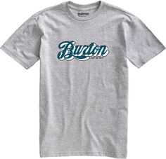 Burton Enjoy short sleeve t-shirt Heather Grey