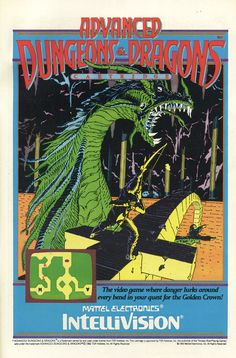 All sizes | Advanced Dungeons and Dragons video game for the Intellivision (1983) | Flickr - Photo Sharing!