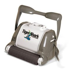 #EnergySolution Featuring an intelligent microprocessor-based technology, the #TigerShark family of robotic pool cleaners is recognized for its superior performance and efficiency. Loaded with industry-leading technology, TigerShark makes sure every inch of your pool gets that much cleaner, and fast! The TigerShark QC robotic cleaner is no exception with a fast cleaning cycle.
