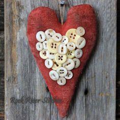 Rock River Stitches: More Primitive Valentine Goodies!
