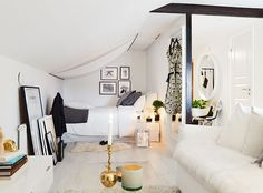 34 Square Meter Cozy Attic Studio Apartment