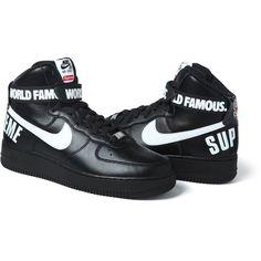 Nike x Supreme Air Force 1 Hi