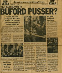 122 Best The Real Sheriff Buford Pusser Images Walking Tall