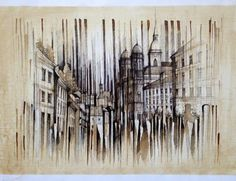 Ink And Coffee Architectural Drawings By Pavel Filgas