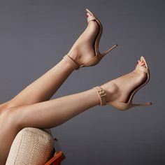 Ankle Strap High Heels, Hot High Heels, Sexy Heels, Wedge Heels, Stiletto Heels, Shoes Heels, High Hill Shoes, Alexander Mcqueen, Ch Carolina Herrera