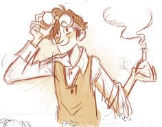 Jekyll + Goggles Doodle by otherwise.deviantart.com on @DeviantArt