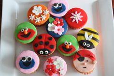 Allerlei cupcakes voor kinderen