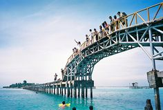 Tidung Love Bridge -Tidung Island, Indonesia