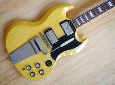 2002 Gibson Custom Shop '61 Les Paul SG TV Yellow VOS Historic Guitar Vibrola | Musical Instruments & Gear, Guitars & Basses, Electric Guitars | eBay!