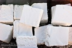 Homemade Food Gifts: Homemade Marshmallow Recipe