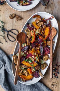 Glutenfreier Herbstpanzanella & die glutenfreie Feel Good Box von Schär