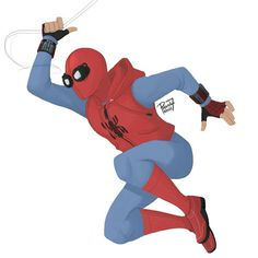 """By pencilhead7: """"Homemade Spidey suit looks awesome! And its so simple too."""""""