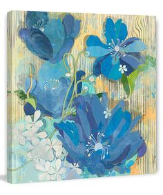 Look at this #zulilyfind! Hampton Breeze Gallery-Wrapped Canvas #zulilyfinds