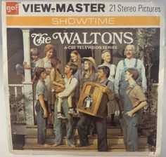 """View-Master de """"The Waltons"""" The Waltons Tv Show, Saturday Night Fever, View Master, Classic Monsters, Smile Because, Cultura Pop, Old Tv, Classic Tv"""